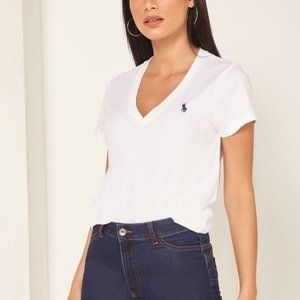 NWT Polo Ralph Lauren Short Sleeve V-Neck T-shirt